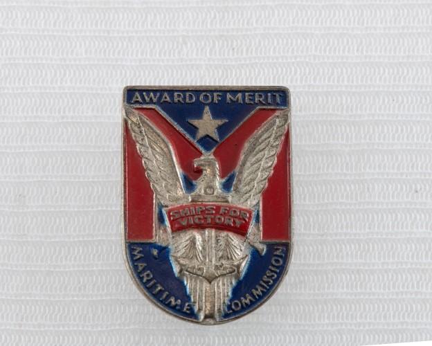 1940 maritime lapel pin